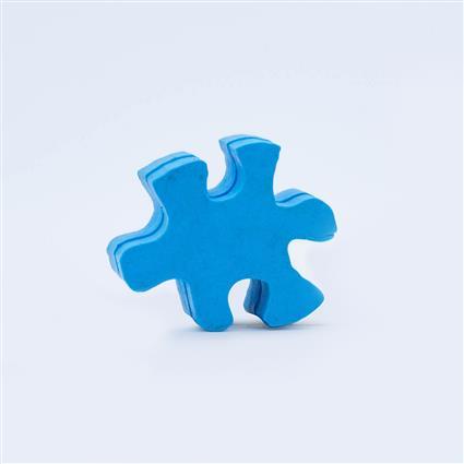 Figurine Stock Eraser- Puzzle Piece - LarLu